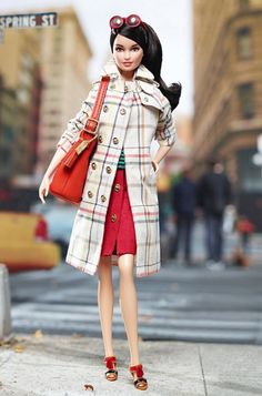 Mattel and Coach collaborate on Coach Barbie doll
