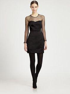 Milly Illusion Sheath Dress