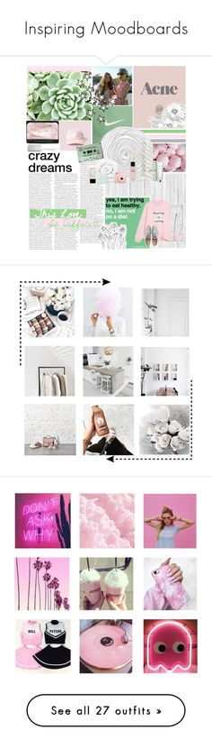 """Inspiring Moodboards"" by stardus-t ❤ liked on Polyvore featuring Cullen, Prada, NLXL, Monki, Abercrombie & Fitch, Gap, Brinkhaus, Fujifilm, Chanel and philosophy"