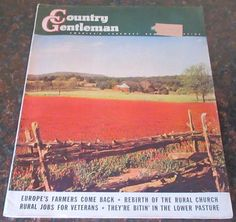 Country Gentleman Magazine 1945 August REO trucks GMC Champion Studebaker JELL-O