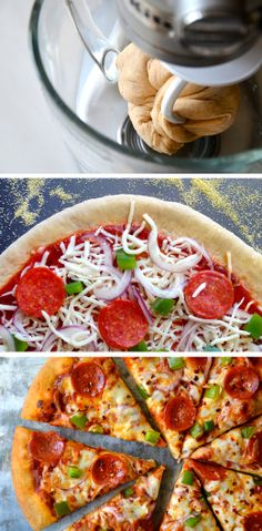 10 Tips for Making Your Own Pizza - The Kitchenthusiast #kitchenaid