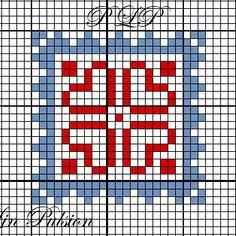 Lin Pulsion - Page 1 - Lin Pulsion Cross Stitch Heart, Cross Stitch Cards, Counted Cross Stitch Patterns, Cross Stitch Designs, Cross Stitching, Cross Stitch Embroidery, Embroidery Patterns, Cross Stitch Geometric, Graph Paper Art