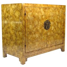 Henredon Oil Drop Chinoiserie Cabinet