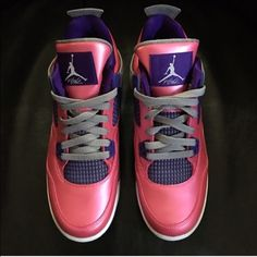 Jordan's Pink. NO LOW BALLERS $40 One Day Only Great Condition GIRLS Size 6 YOUTH AUTHENTIC COME IN THE BOX Jordan Shoes Athletic Shoes