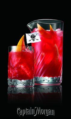 Shark Puncher with Captain Morgan Coconut Rum