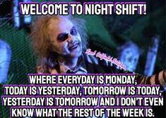 27 Relatable Night Shift Memes For All Nurses - Humor Night Nurse Humor, New Nurse Humor, Night Shift Humor, Nurse Jokes, Night Shift Nurse, Funny Nurse Quotes, Medical Humor, Nursing Memes, Working Night Shift