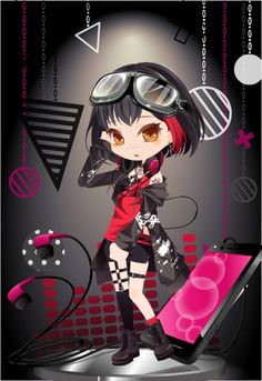 Twitter Female Outfits, Anime Outfits, Cocoppa Play, Anime Chibi, Costume Design, Star Fashion, Cartoons, Kawaii, Cosplay