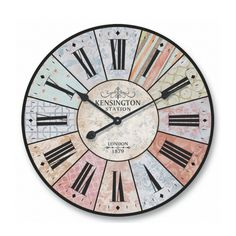 Kensington Station Clock | 60x60x4.5cm by Make Your Decor Tick on THEHOME.COM.AU