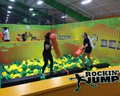 Towson Rockin Jump Trampoline Park Trips With The Kiddos