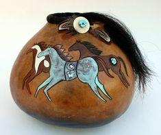 gourd art! Learn to anneal, emboss, hammer and heat copper and copper