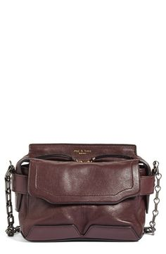 Free shipping and returns on rag & bone Micro Pilot Leather Satchel at Nordstrom.com. A scaled-down version of a well-organized satchel is crafted from richly grained leather and styled with a chain-and-leather crossbody strap for a polished look.