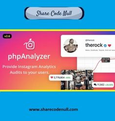 phpAnalyzer is an online social tracking tool that gives you the ability to track unlimited Instagram Accounts and generating professional audits, including day by day tracking, engagement rates, top posts, top hashtags and top mentions and many more. #instagram_analytics Social Media Analytics, Statistics, Hashtags, Instagram Accounts, Track, Coding, Posts, Engagement, Top