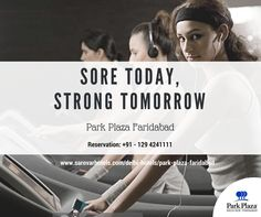Run, do yoga, use stairs, swim, walk or just move more do something, we want you to be strong and healthy. Book your stay at #ParkPlaza #Faridabad, and we won't let you miss your daily work out. Stay fit, eat healthy with us.  Reservation: +91 - 129 4241111  Or, Visit us: www.sarovarhotels.com/delhi-hotels/park-plaza-faridabad  #Gym #Workout #Healthylifestyle #Lifestyle #Hotel #BestHotelinFaridabad #FaridabadHotels #ParkPlazafaridabad