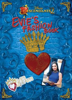 Evie may be from the Isle, but she loves her new life in Auradon. School is amazing, her friends are wicked, and she started her own fashion line. DREAMS DO COME... The Descendants, Descendants Costumes, Disney Descendants Books, Descendants Videos, Grand Prince, Mals Spell Book, Disney Channel Movies, Beautiful Sketches, Walt Disney Company