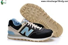 Latest Listing New Balance 574 ML574OSB Black Blue Yellow Casual shoes Store