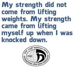 Training Tonight to Here is some motivation! Daily Motivation, Fitness Motivation, Krav Maga Martial Arts, Israeli Krav Maga, Scary Dreams, Krav Maga Self Defense, Learn Krav Maga, Heavy Weight Lifting, Way Of Life