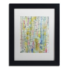 <ul><li>Artist: Sylvie Demers </li><li>Title: Air du Temps 1</li><li>Product Type: White Matte, Black Frame, Giclee Print Under Acrylic in a Wooden Frame</li></ul>
