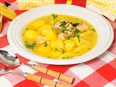 Guiso de salmón con patatas - Samantha Vallejo-Nágera (Samantha de España) - Receta - Canal Cocina
