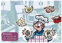 LA COCINA DE LAS PALABRAS | RECURSOS PARA NUESTRA CLASE