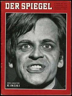 1961 - Der Spiegel with Klaus Kinski