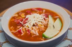Super easy and delicious Taco Soup.
