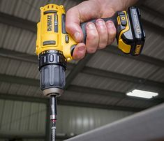 Best 12V Cordless Drill - Deck Screw Driving DeWalt DCD710S2 Lo Res