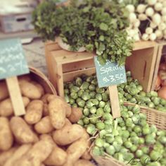 how to make the most of your weekend trips to the farmer's market {love this}