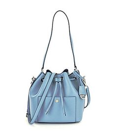 b9c9b65274f4c MICHAEL Michael Kors Greenwich Medium Bucket Bag  Dillards