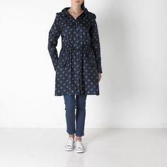 Button Spot Long Raincoat   Fashion   CathKidston