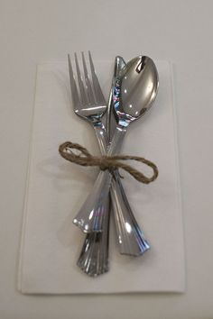 Simple cutlery set - Eight Forks, Eight Knives, Eight Table Spoons and Four Teaspoons