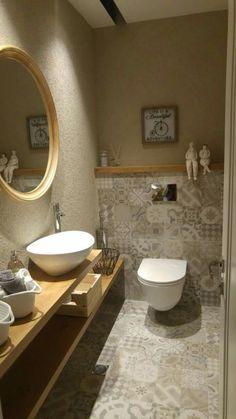 Washroom Design, Bathroom Design Luxury, Bathroom Design Small, Small Toilet Room, Guest Toilet, Wc Design, Toilet Design, Upstairs Bathrooms, Downstairs Bathroom