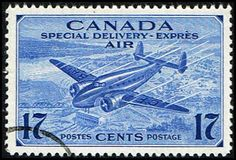Blue Moon Philatelic Stamp Store - Canada CE2 Stamp Trans-Canada Airplane Stamp NA C CE2-1 USED, $1.95 (http://www.bmastamps2.com/stamps/north-america/canada/canada-ce2-stamp-trans-canada-airplane-stamp-na-c-ce2-1-used/)