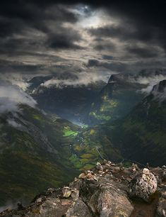 NORWAY!!!!!!!!!!!! ~this is a fjord!