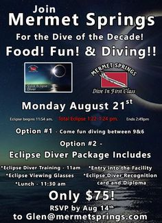 If you are still looking for the perfect place to view the eclipse, then there are many options in the Heartland. Imagine experiencing the total solar eclipse under water. Breathing Underwater, Total Eclipse, Koh Tao, Heartland, Thailand Travel, Scuba Diving, Perfect Place, Travelling, Solar