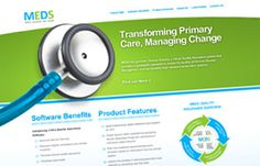 Medical Evaluation Data Systems (MEDS) new website:  easy to update, tied with Facebook and Twitter.