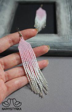 beaded earrings to make Brick Stitch Earrings, Seed Bead Earrings, Fringe Earrings, Women's Earrings, Seed Beads, Seed Bead Bracelets, Earrings Online, Beaded Earrings Patterns, Beaded Jewelry