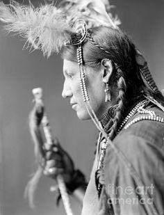Fotograaf: Gertrude Kasebier / Sioux Native American
