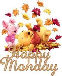 Good morning everyone! winnie-the-pooh - happy monday Happy Monday Gif, Happy Monday Images, Happy Gif, It's Monday, Monday Morning, Sunday Images, Manic Monday, Monday Memes, Wednesday