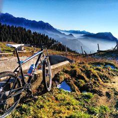 Uscita in mountain bike fino alla malga Dauda. 20.12.2014