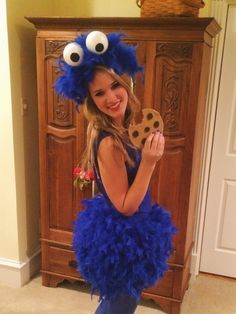 Custom couture order for efry8 only purchase if you are efry8 diy cookie monster costume solutioingenieria Choice Image
