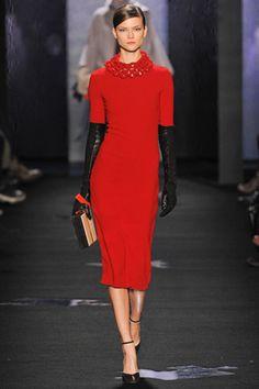 Lilogi.com - Top Runway picks, Diane Von Furstenburg, fall 2012 ready-to-wear  Runway, RED