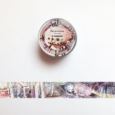 Neverwhere Washi Tape, Submarine Explorer Washi Roll, Masking Tape, Original Deco Tape