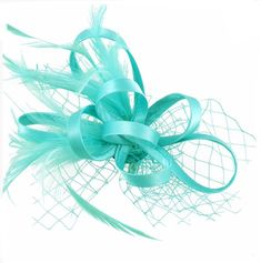 15a1b374 Aqua, mint, green, sea green, Fascinator, hat, Fascinators, Fascinator hat,  hatinator, wedding, ascot, derby, races, hair accessory, teal