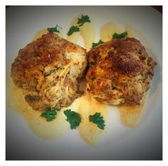Healthy Broiled Crab Cakes