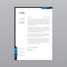 Discover thousands of Premium vectors available in AI and EPS formats Letterhead Business, Business Card Mock Up, Business Brochure, Business Card Design, Creative Business, Company Letterhead Template, Free Letterhead Templates, Invoice Design, Stationery Design