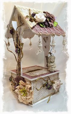 Swirlydoos Scrapbook Kits: Lady Belle Wishing Well Tutorial