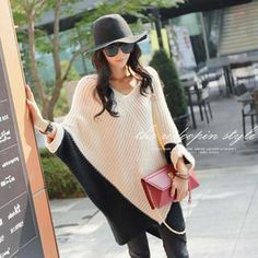Buy 'REDOPIN – Batwing-Sleeve Rib-Knit Oversized Sweater' with Free International Shipping at YesStyle.com. Browse and shop for thousands of Asian fashion items from South Korea and more!
