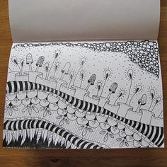Katie_25 - doodling, Zentangle