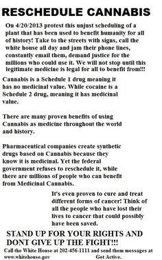Reschedule Cannabis