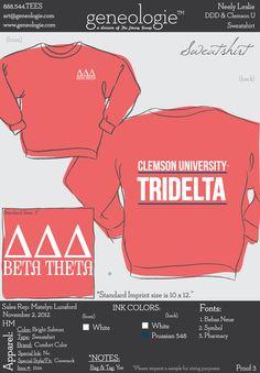 Tri Delta sweatshirt
